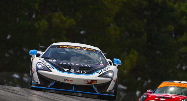 A ROCKY EVENT FOR COREY FERGUS AND MIA AT MID-OHIO